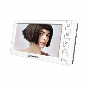 "Монитор видеодомофона Amelie (White) NEW Vizit ,цв., TFT LCD 7"", PAL/NTSC, Hands-Free, 1 вх от подъе"